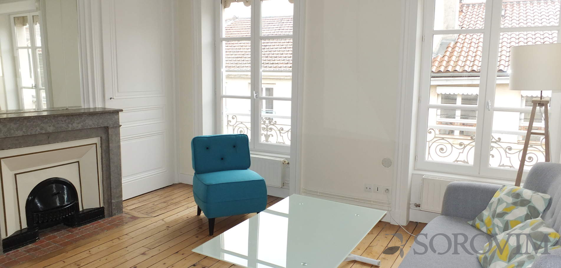 Location appartement 53 m² - Lyon 6<sup>e</sup>